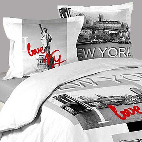 Housse De Couette New York City Love 2 Taies D Oreillers Http Www Richandhome Com Housse De Couette 398 New York Love Htm Housse De Couette Housses Couette
