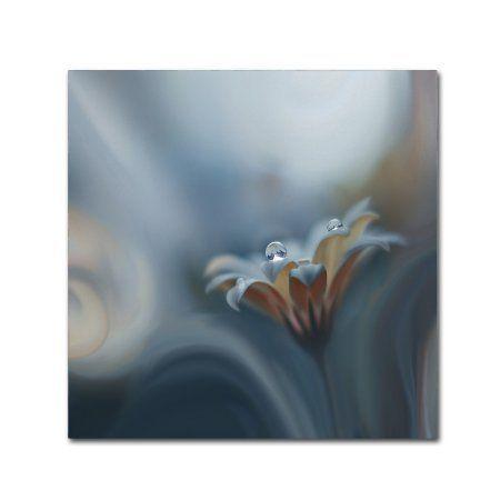 Trademark Fine Art 'Infinite Longing' Canvas Art by Juliana Nan, Size: 14 x 14, Gray