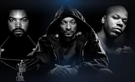 PHOENIX, AZ - West Coast All-Stars: Snoop Dogg with Ice Cube and Too Short – Comerica Theatre  $48 for Snoop Dogg, Ice Cube, and Too Short Concert on Friday, September 14, at 8 p.m.