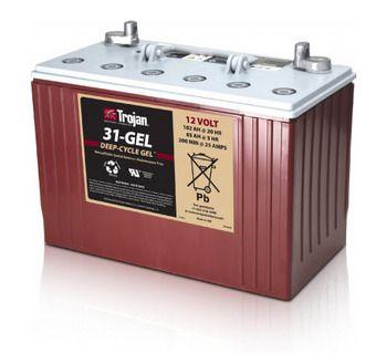 Trojan 8d Gel Sealed Gel 12v 225ah Battery Case