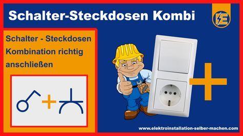 schema 3 mit steckdose 2 | Tipps | Pinterest | Steckdose, Elektro ...