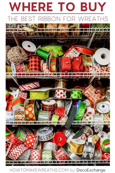 Chez Lannis: DIY ribbon wreathChez Lannis: DIY ribbon wreathtapeThe best ribbon for wreaths - do you ever wonder where we can find all the fantastic ribbon that is used in our ribbon wreaths? Ribbon Wreath Tutorial, Mesh Ribbon Wreaths, Christmas Mesh Wreaths, Yarn Wreaths, Winter Wreaths, Floral Wreaths, Burlap Wreaths, Spring Wreaths, Summer Wreath