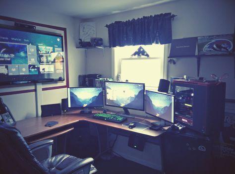 lpqnlqD.jpg (JPEG Image, 4208 × 3120 pixels) - Scaled (29%) #computer #desk #gamer