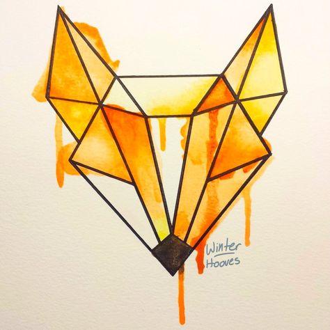 Fox Watercolor by Winter-Hooves