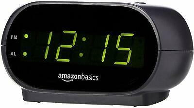 Details About Small Digital Alarm Clock With Nightlight And