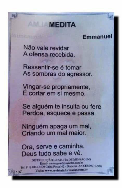 Emmanuel Espiritualidade Crencas Sombras