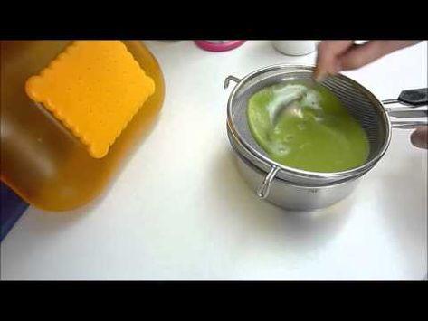 Espagueti De Brócoli Hechos Con Agar Agar Youtube