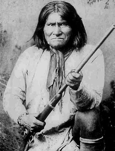 """""""Geronimo is said to have had magical powers. He could see into the future, walk without creating footprints and even hold off the dawn to protect his own. This Apache Indian warrior and his band of 37 followers defied federal authority for more than 25 years."""""""