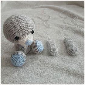 Ursinho Amigurumi - Receita | Bichinhos de croche, Urso de crochê ... | 280x280