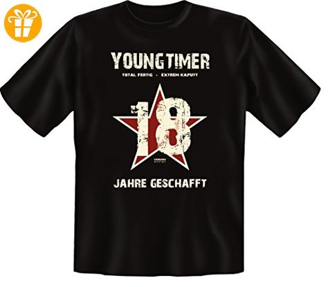 Geburtstags Fun T Shirt Geschenk Zum 18 Geburtstag Youngtimer