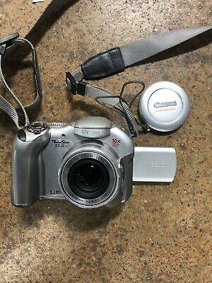 Canon Powershot S1 Is 3 2 Mp Digital Camera W 10x Image Digital Camera Camera Powershot