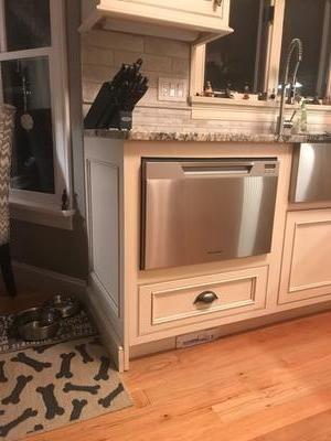 1 2 Size Dishwasher Drawer Space Under Kitchen Remodel Small Kitchen Remodel Drawer Dishwasher