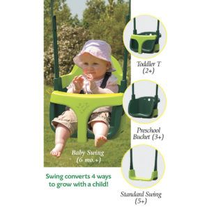 The Grow With Me Baby Swing Daddy Check This Out Toys Toysforkids Swing Outdoor Baby Swings Baby Swing Set Award Winning Toys