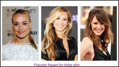 List Of Pinterest Hohe Stirn Frisuren Frauen Pictures Pinterest