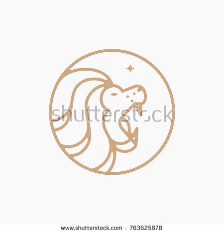 Gold Lion Logo Abstract Geometric Line Art Monoline Vector Illustration Template Geometric Lines Lion Logo Gold Lion Download this premium vector about gold lion monoline, and discover more than 10 million professional graphic resources on freepik. pinterest