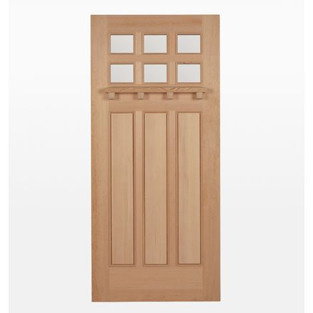 12 Lite Grille Fir Screen Door Exterior Doors Interior Barn Doors Outdoor Doors
