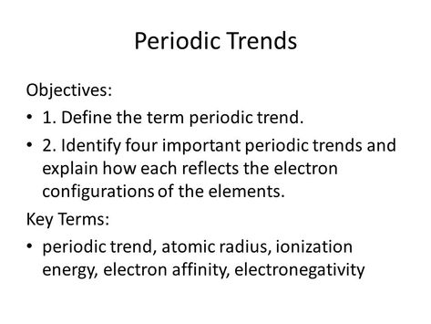 Electron affinity trend explanation