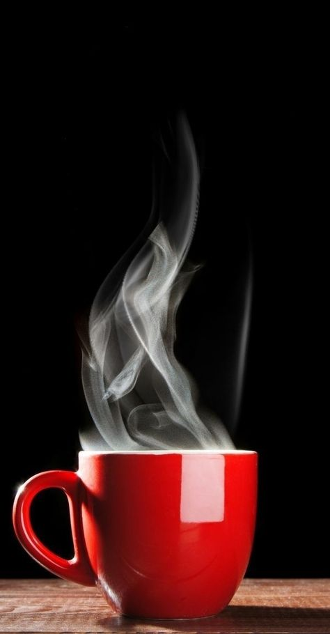 Tasa para cafe rojo