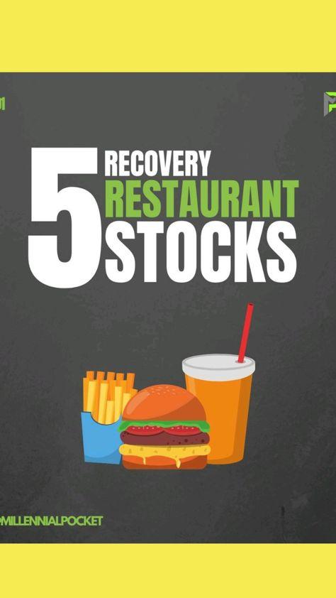 5 Restoraunt stocks that recover!