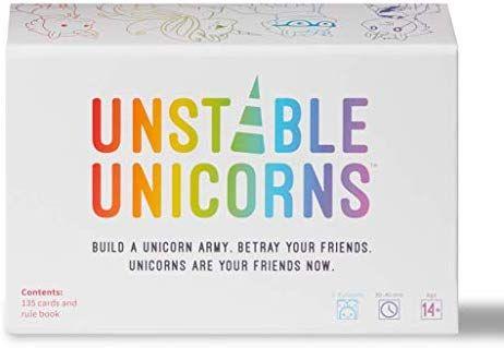 Amazon Com Unstable Unicorns Card Game A Strategic Card Game