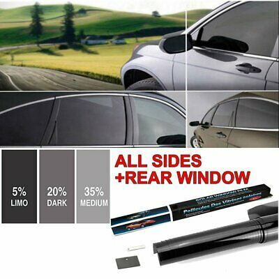 Details About 5 20 35 Vlt Uncut Roll Window Tint Film 24 In X