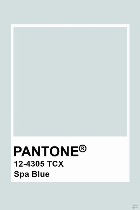 This color is blue in hue, light in value, and low in chroma creating this airy and light blue.