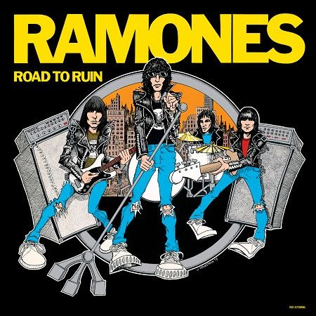 Ramones Road To Ruin 40th Anniversary Deluxe Edition Available In September Rock Album Covers Ramones Album Cover Art