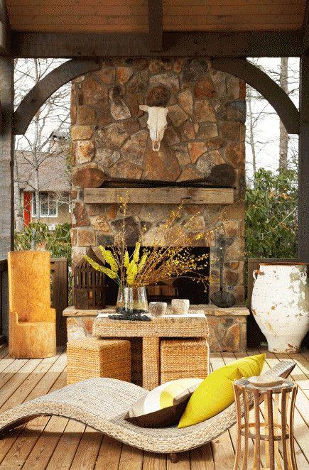 Outdoor Fireplace Design 20 Outdoor Fireplace Ideas Outdoor