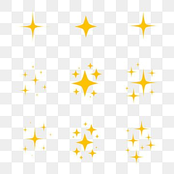 Sparkling Black And White Symbol Vector A Set Of Original Starter Icons Shiny Shine Light Effect Stars Flash Decoration Twinkle Glowing Bursts Collection Brigh Black And White Abstract Holiday Icon Star