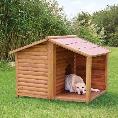 Trixie Rustic Large Dog House Rustic Dog Houses Large Dog House