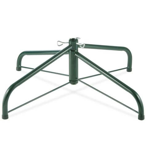 32 Inch Folding Tree Stand For 9 To 12 Foot Trees With 1 25 Inch Pole Green National Tree Company Metal Tree Stand Accessories Rotating Tree Stand Artificial Tree Stand