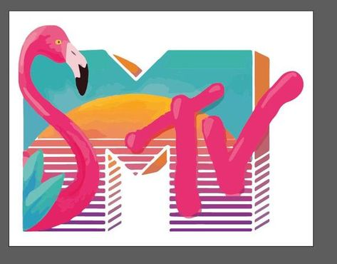 Logo Colours - MTV Logo's by Crush Creative, via Behance