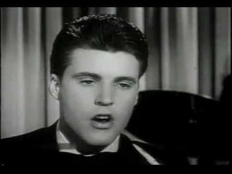 We all loved Ricky Nelson - Travelin' Man 1961 ~ Performed on the Ozzie and Harriet show.