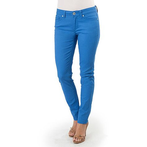 Jordache Women's Colored Skinny Jeans