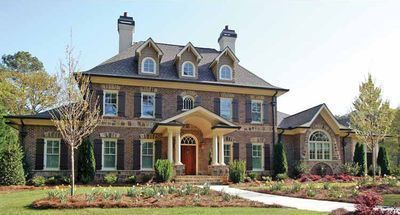 Plan 15765ge Stately Traditional Home Plan Traditional House Plans Colonial House Plans Traditional House