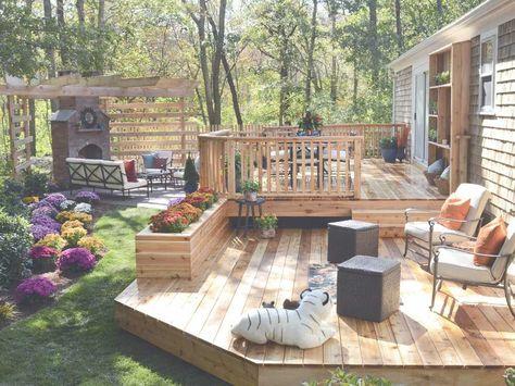 Small Backyard Decks | Outside | Pinterest | Small Backyard Decks, Decking  And Backyard