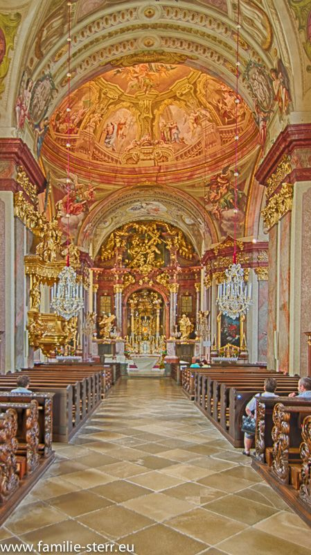 Maria Taferl Donauradweg Wallfahrt Kirchen Rad