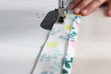 バイアステープの縫い付け方 使い方 基本の直線 Nunocoto 裁縫