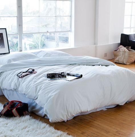 Celadon Westwood Washed Cotton Duvet - @HomeMint $119.99