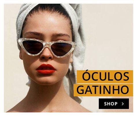 58f081bf7c733 Os óculos mais estilosos da temporada. Óculos de Sol Gatinho Slim Nude  feito em material sintético. Armação e hastes em acetato nude.