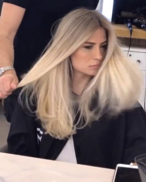 Milky hair