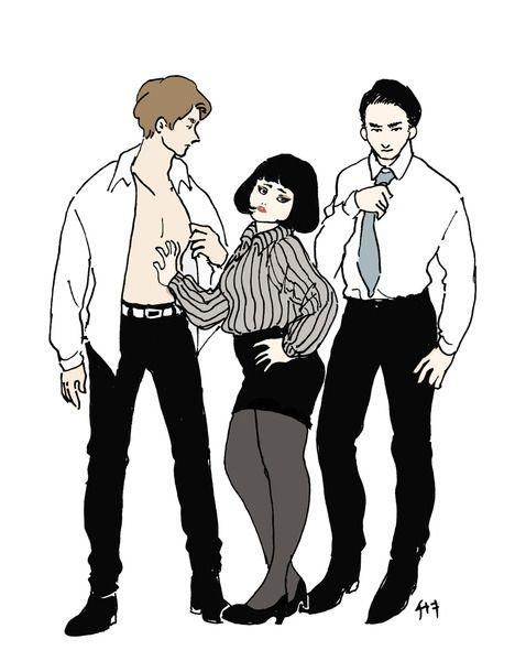 似顔絵/ブルゾンちえみwithB