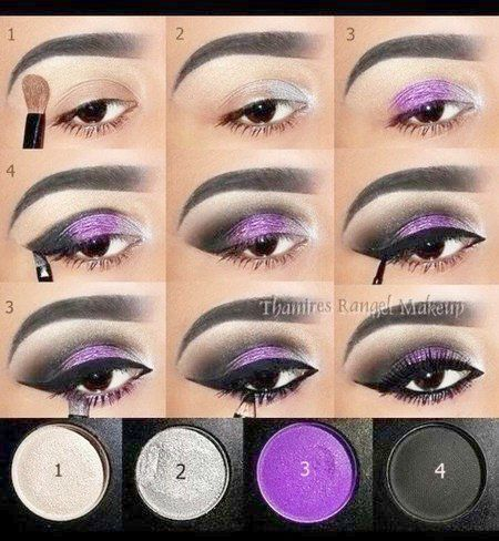 Easy Smokey Eye Tips Smokey Eye Look Blue Eyes Purple Eye Makeup