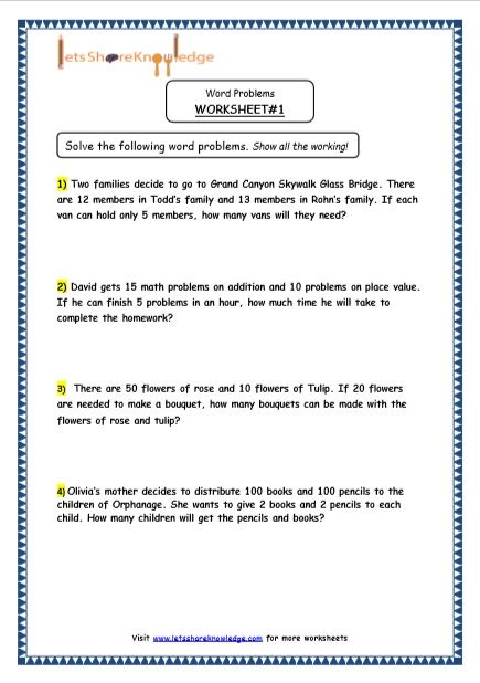 Grade 4 Maths Resources 2 Step Word Problems Printable Worksheets Lets Share Knowledge Word Problem Worksheets Word Problems Subtraction Word Problems Math grade worksheets word problems