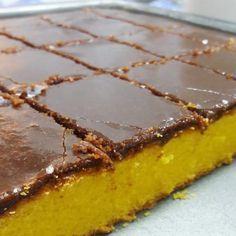 Receita De Bolo De Cenoura Com Cobertura De Chocolate Perfeito