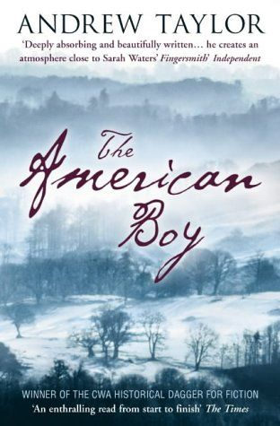 P22 Cezanne font on The American Boy book cover