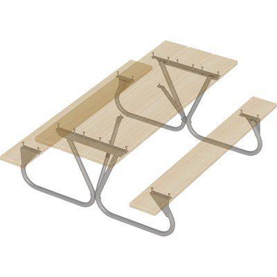 Pilot Rock Picnic Table Frame Kit Model Btug Fr Picnic Table Table Frame Pilot Rock