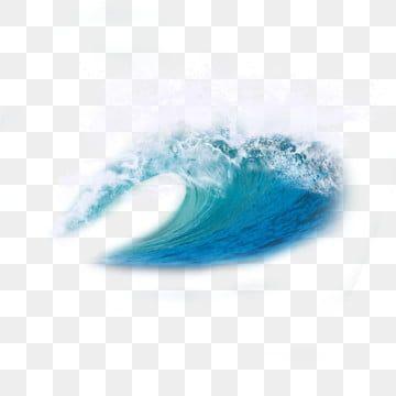 Wave Water Wave Spray Blue Sea Effect Ocean Decoration Blue Water Wave Splashing Spray White Spray Water Ocean In 2021 Watercolor Pattern Background Wave Clipart Waves