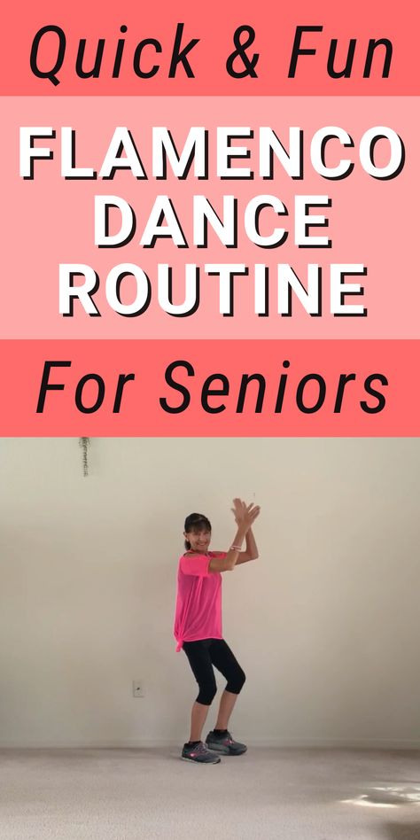 Quick and fun flamenco dance routine for seniors Tai Chi Exercise, Walking Exercise, Fitness Diet, Health Fitness, Fitness Fun, Pool Noodle Exercises, Stretching For Seniors, Assisted Living Activities, Fitness And Beauty Tips