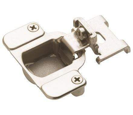 Self Closing Concealed 3 8 Inch Overlay Cabinet Hinge Nickel 2 Pack Kitchen Cabinets Hinges Overlay Cabinet Hinges Hinges For Cabinets